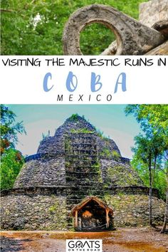Visiting the Majestic Mayan Ruins in Coba, Mexico? We've compiled a list of the top mayan ruins that are definitely worth your time! Use these tips to beat the crowds at this famous archaeological site. From the best things to do, history, visit tips, top guided tours, entrance fee, and more! | #ruins #travel #coba Cancun Vacation, Mexico Vacation, Mexico Travel, Beautiful Places To Visit, Cool Places To Visit, Coba Mexico, Merida Mexico, Mexico Destinations, Cruise Excursions