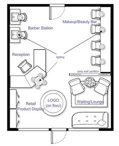 Image result for beauty salon floor plan layouts