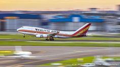 Kalitta Air B747 freighter @Brussels Airport
