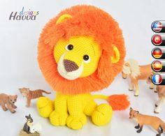 Little Lion – Crochet Pattern | Amigurumi Pattern: Havva Designs Handmade Toy Pattern Shop