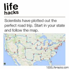 Improve your life one hack at a time. 1000 Life Hacks, DIYs, tips, tricks and More. Start living life to the fullest! Vacation Places, Vacation Spots, Vacation Ideas, Oh The Places You'll Go, Cool Places To Visit, 1000 Lifehacks, Perfect Road Trip, Us Road Trip, Road Trip Hacks