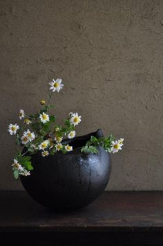"""Ikebana. """"If an object or expression can bring about, within us, a sense of serene melancholy and a spiritual longing, then that object could be said to be wabi-sabi."""" Andrew Juniper, Wabi Sabi: The Japanese Art of Impermanence, 2003."""
