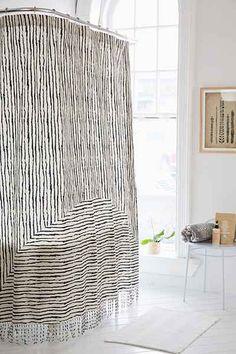 4040 Locust Lagos Shower Curtain
