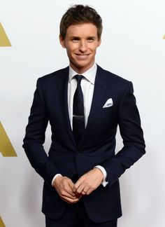Eddie Redmayne - Oscars 2015 nominees lunch
