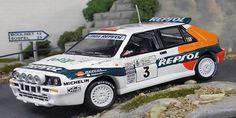 Acropolis Rally of Greece 1993 Lancia Delta HF Integrale Sainz/Moya 1/43