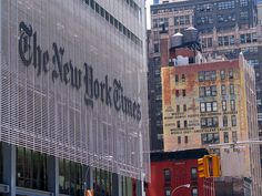 The New York Times building, Midtown Manhattan, New York