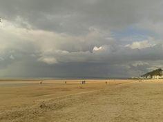 La plage de Trouville.