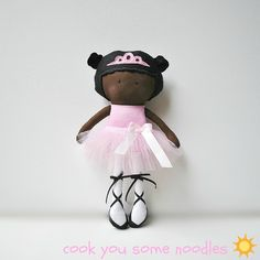 My Teeny-Tiny Doll™ Amelia Ballerina by Cook You Some Noodles, via Flickr