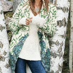 I just discovered this while shopping on Poshmark: NWT Anthropologie Moth Sugar Pine sweater Coat. Check it out! Price: $200 Size: M, listed by kkguido