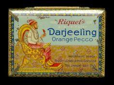 1905 Requets Darjeeling Tea Tin