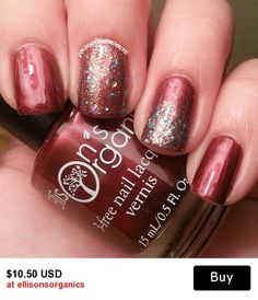 Merry Kissmas is an awesome 3-free nail lacquer! I love that I can wear it all year and it's not just a holiday color.