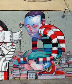 Street Art Graffiti Artists Vol 45 Best Street Art, Amazing Street Art, Street Mural, Street Art Graffiti, Urban Graffiti, Art Rules, Street Artists, Graffiti Artists, Outdoor Art