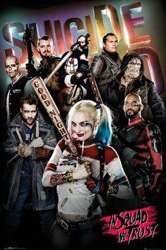 Suicide Squad In Squad We Trust Maxi Poster