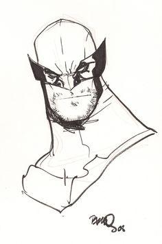 Wolverine Comic Art