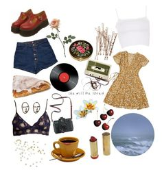 """Untitled #107"" by sunsetsandflowers on Polyvore featuring Mancienne, Topshop, Madewell and Madonna"