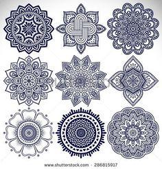 Mandalas. Vintage decorative elements. Hand drawn background. Islam, Arabic, Indian, ottoman motifs.