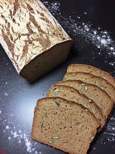 Annerbrot…ein Sauerteigbrot - New Ideas German Bread, Bread Art, Food Humor, Pampered Chef, Cute Food, Diy Food, Bread Recipes, Banana Bread, Food And Drink