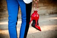 Update your spring style with these 5 fashion pieces. Click to read more. High Heels Images, Red High Heels, Color Pop, Spring Fashion, Woman Shoes, Spring Style, Hair Styles, Boots, Stiletto Heels