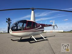 2015 Robinson R44 RAVEN II for sale in MONTREAL, QC Canada => www.AirplaneMart.com/aircraft-for-sale/Helicopter/2015-Robinson-R44-RAVEN-II/14818/