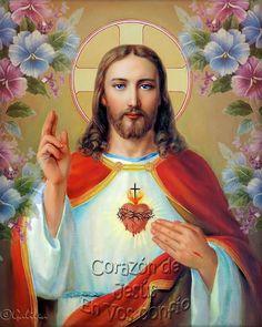 Jesús el Tesoro Escondido: Ofrecimiento al Sagrado Corazón de Jesús