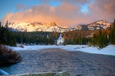 "Twin Lakes, Mammoth 8"" x 12"" Fine Art Print on Etsy, $20.00"