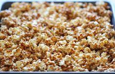 Yummy Cinnamon Roll Caramel Corn