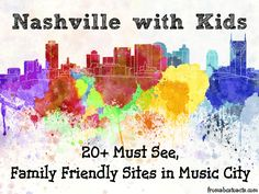 Things to Do in Nashville with Kids // Actividades para hacer con niños en Nashville