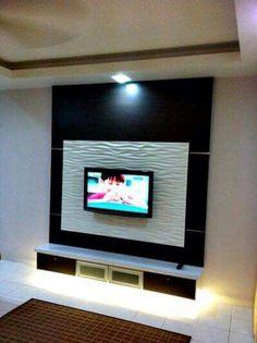 Wall Unit Designs, Living Area, Flat Screen, The Unit, Deco, Tv Unit Furniture, Mirrors, Drawing Rooms, Flat Screen Display