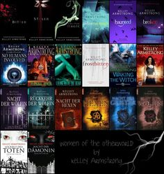 Kelley Armstrong; Women of the Otherworld Series  Good series for adults