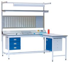 ESD Workbenches, Static Dissipative Workbench, Electronics Workbench,