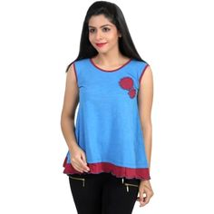 Chikbird Knitted Top with embellishment @ Calicozkart Buy Now ;  http://www.calicozkart.com/chikbird-knitted-top-with-embellishment.html Price : ₹ 790.00/- Free Shipping in India #MustHavefashion #WomenTops