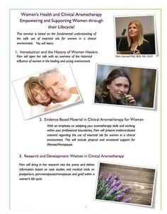 May Contact the CFA office to register Healer, Aromatherapy, 30th, Clinic, Workshop, Events, Atelier