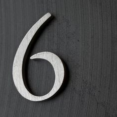 House Proud Signs and Numbers - GARAMOND : Simply Elegant Cast Metal Numbers and Letters