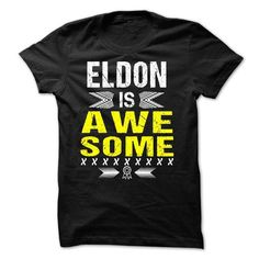 ELDON is Awesome - #summer tee #navy sweater. OBTAIN => https://www.sunfrog.com/Names/ELDON-is-Awesome.html?68278