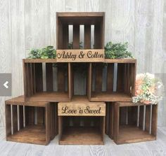 Cupcake stand wedding cupcake stand wood cupcake stand You are in the right place about Wedding gown Here we offer … Wood Cupcake Stand, Rustic Cupcake Stands, Rustic Cupcakes, Cupcake Table, Cupcake Stand Wedding, Wedding Cake Stands, Wedding Cake Rustic, Rustic Cake, Wedding Table