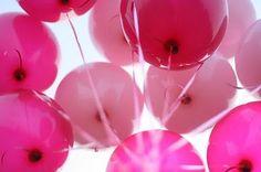 pink ballons