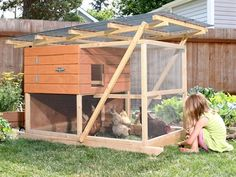 """the Garden Ark"" Chicken Coop Plans"