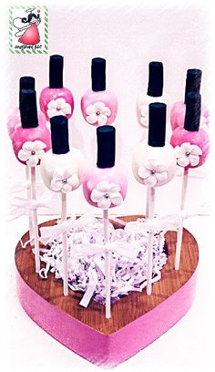 Nail Polish Cake Pops by myangelpops on Etsy, $40.00