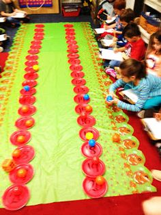 Hello Everyone,   I wanted to share a couple of things we did last week to finish up our Grinch Week and a fun subtraction Reindeer Game we...