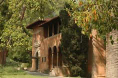 Beautiful Villa del Sol d'Oro in Sierra Madre would be a great place to have a wedding.