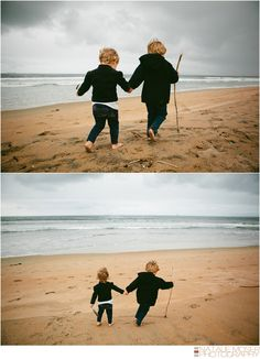 sibling photography {{hand holding, sticks}}
