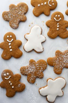 Best Soft and Chewy Gingerbread Cookies - | 3 Scoops of Sugar Christmas Snacks, Christmas Goodies, Holiday Treats, Christmas Recipes, Holiday Recipes, Chewy Gingerbread Cookies, Gingerbread Man Cookie Cutter, Xmas Cookies, Gingerbread Recipes