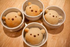 Bread Bears with recipe and directions