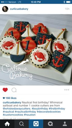 Lighthouse Cookies - these! | Cookies Photos | Pinterest ...