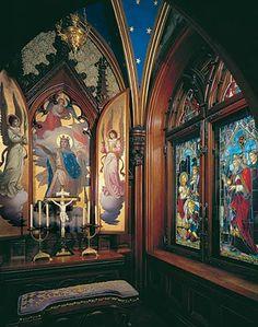 Neuschwanstein Castle interiors - Oratory