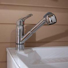 D Composite Laundry Sink, White
