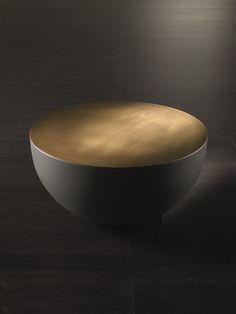 tavolino in ottone spazzolato - Cerca con Google