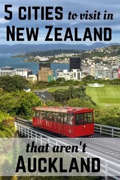 New Zealand isn't all about Auckland. Check out these cities, too! South Pacific, Pacific Ocean, Travel Guides, Travel Tips, New Zealand Travel Guide, State Of Arizona, South Island, Beautiful Places To Visit, Auckland