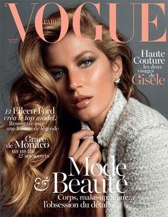 Gisele Bundchen for Vogue Paris November 2013