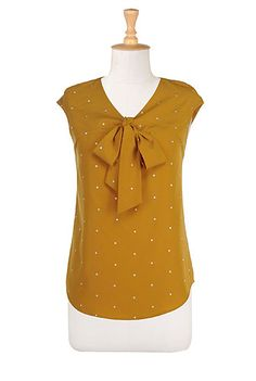 Crafted Dots blouse